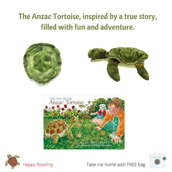 THE TALE OF THE Anzac Tortoise & Sea Turtle HP & Cbag