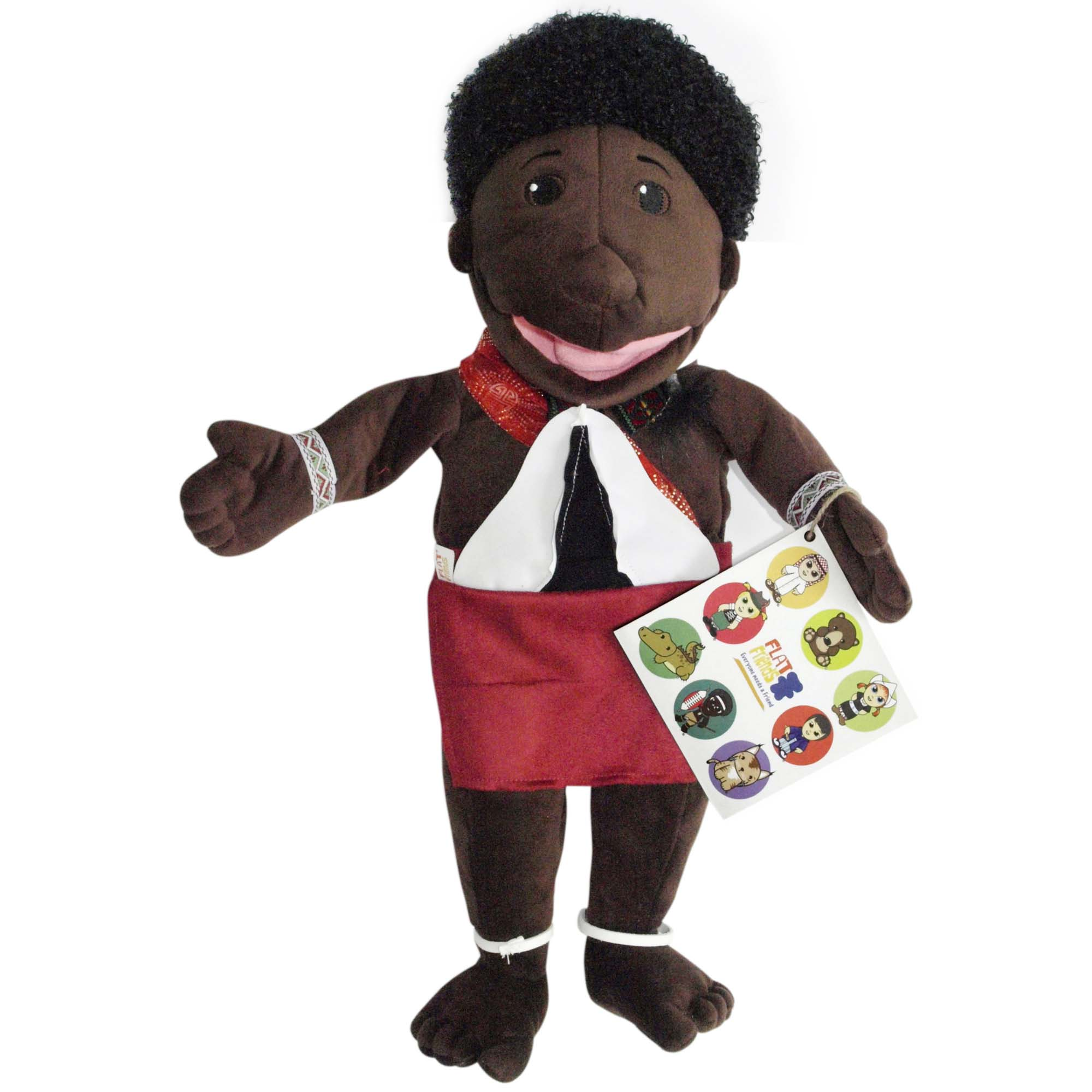 Mhambi Boy Doll Puppet