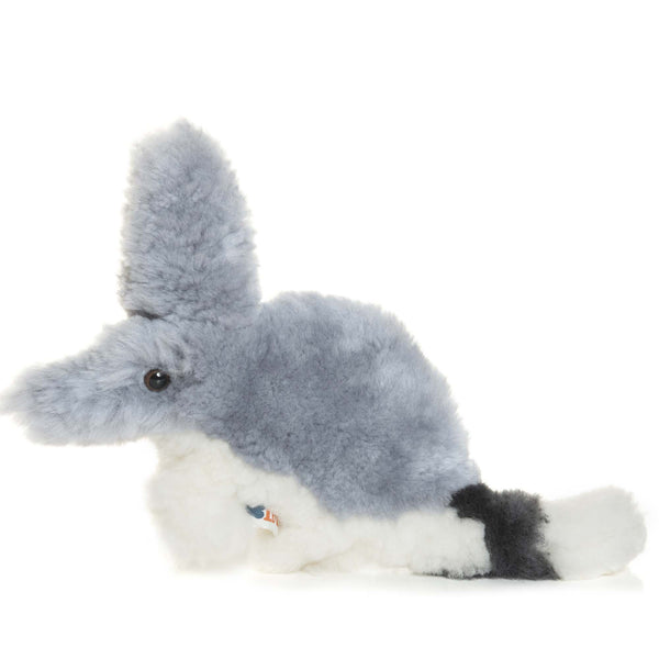 Barry, Bilby Flat Lambskin-Sheepskin Soft Toy Baby Comforter