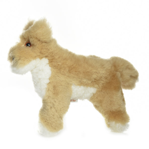 Dingo Lambskin Sheepskin Soft Toy
