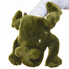 Green Tree Frog Hand Puppet