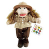 Game Keeper (Winter) Girl Doll Puppet
