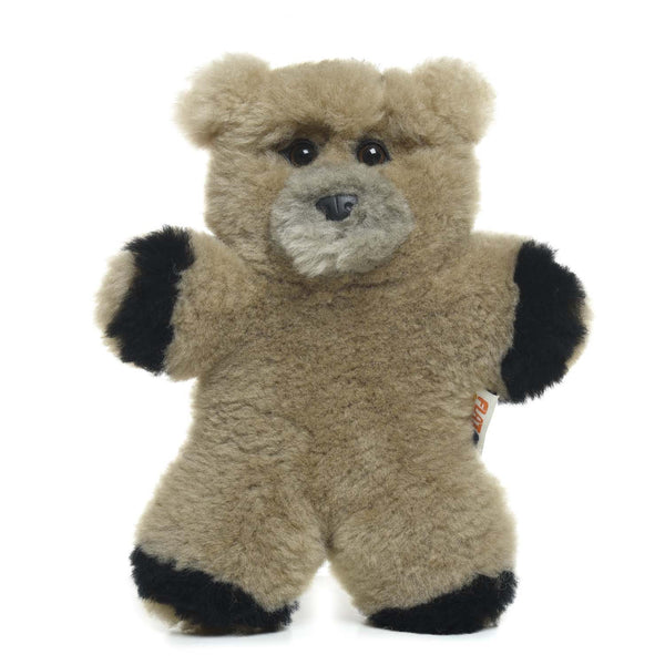 Grizzly Bear Lambskin Soft Toy