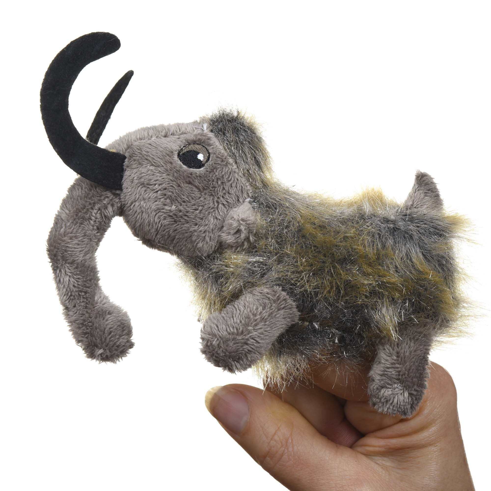 Woolly Mammoth Finger Puppet