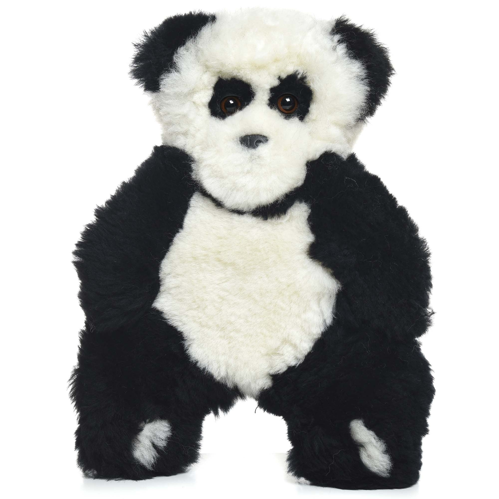 Giant Panda Bear Lambskin Soft Toy