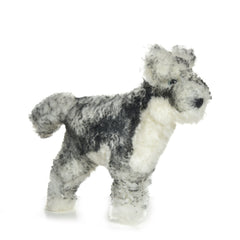 Grey Wolf Lambskin Soft Toy