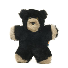 Baby Bear + Black Bear Lambskin soft toy & CBag