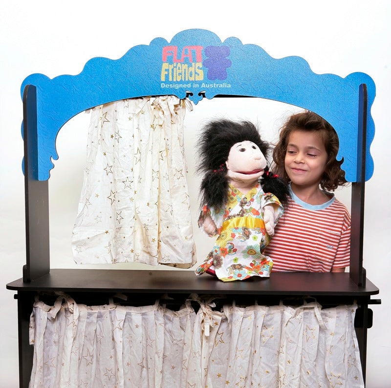 Wooden Floor Puppet Theatre
