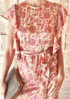 et cetera WOMAN Sweet Sweet Love Tea Dress in hand-batik silk