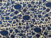 et cetera WOMAN Persian Blue and Black hand-batik silk
