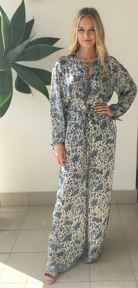 et cetera WOMAN Winsome Palazzo Pants in hand-batik silk