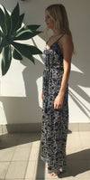 et cetera WOMAN Nightbird Jumpsuit in hand-batik silk