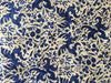 et cetera WOMAN Chambray Blue Dragon Print hand-batik silk