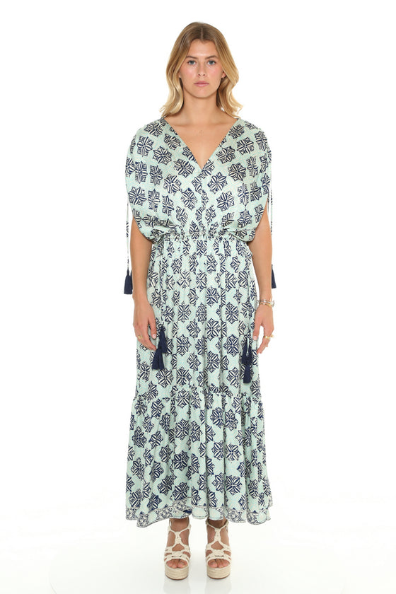 [et cetera] WOMAN Tamarama Drawstring Shoulder and Waistline Maxi Dress