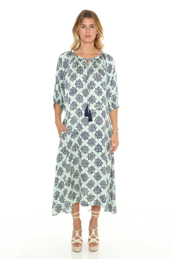 [et cetera] WOMAN Brighton Balloon Sleeve Peasant Dress