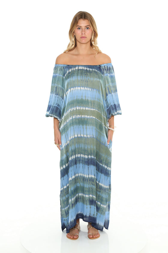 [et cetera] WOMAN Cottesloe Scoop Neck/Off the Shoulder Side Split Maxi