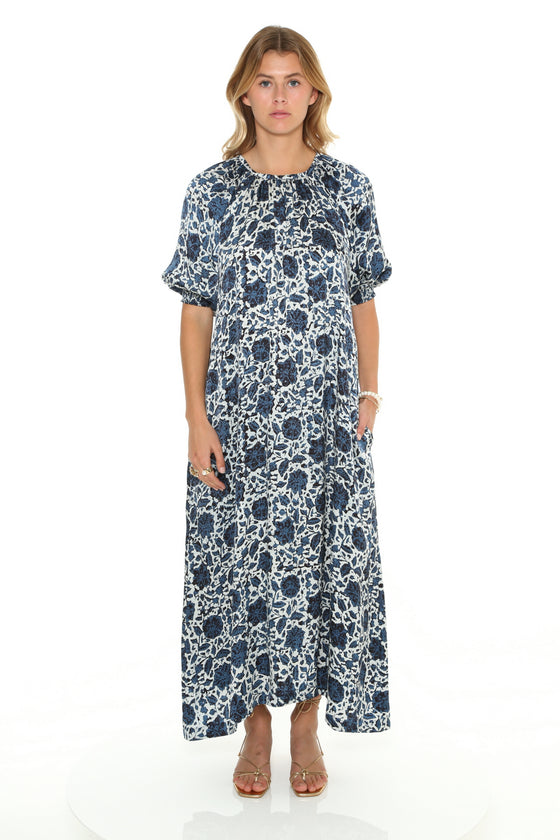 [et cetera] WOMAN Balmoral Baby Doll Maxi Dress