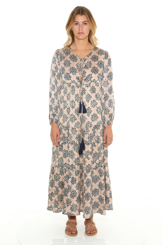 [et cetera] WOMAN Byron Baybe  Boho Midi Dress