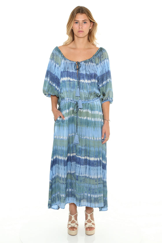 [et cetera] WOMAN Bells Gypsy Maxi Dress
