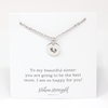 Expecting Mom Charm Necklace - Sister