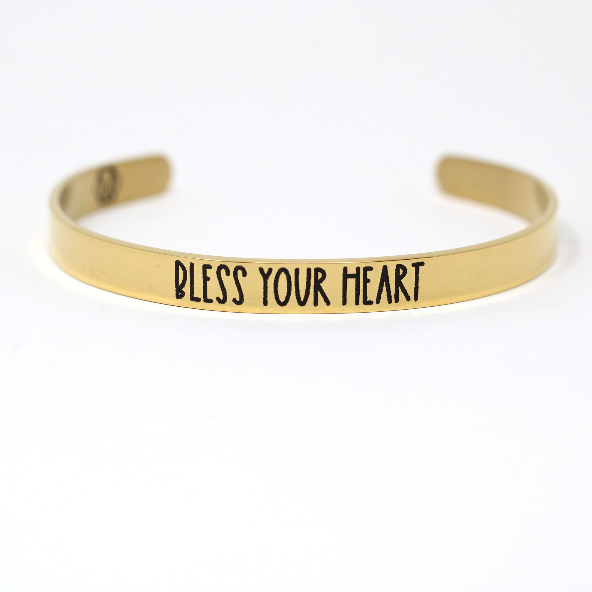 Bless your Heart Cuff Bracelet