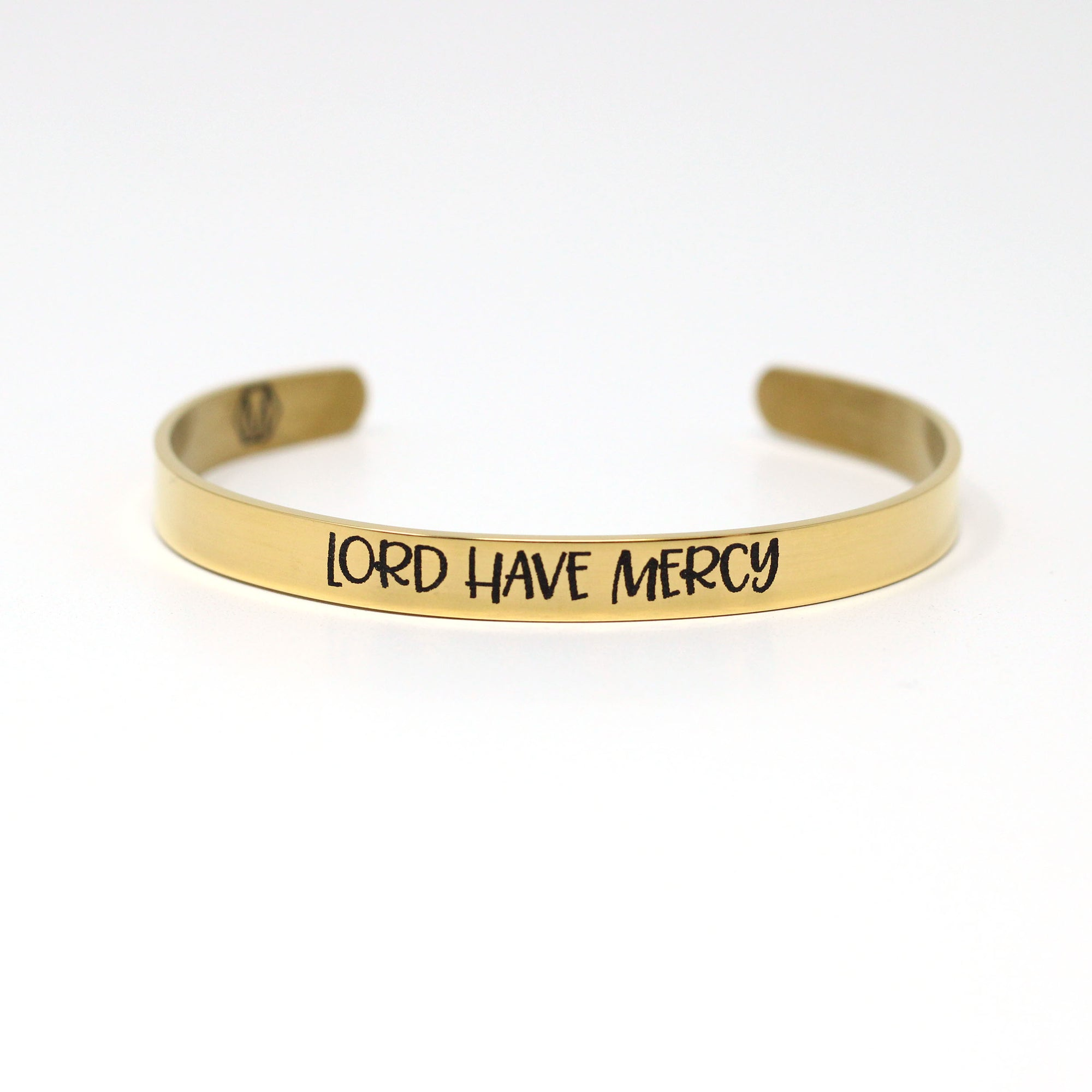 Lord Have Mercy Cuff Bracelet