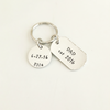 Personalized Name Keychain for Dad