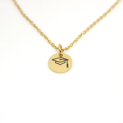 Yay! You Did it!  Graduation Charm Necklace