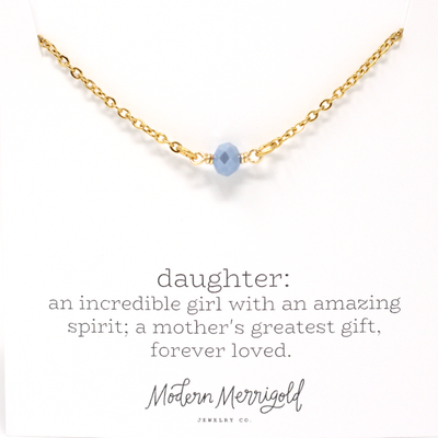 Daughter Definition Necklace - Ivy