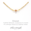Friend Definition Necklace - Ivy