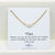 Mom Single Pearl Necklace