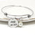 Mrs Personalized Bangle Bracelet