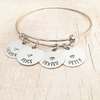 name bangle bracelet jewelry