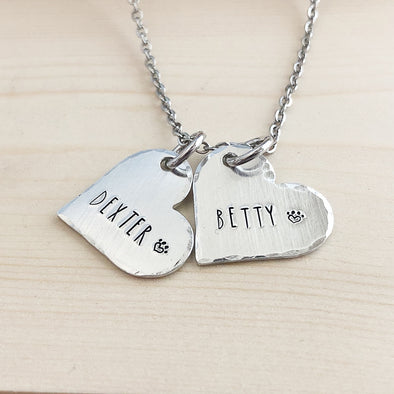 pet name necklace