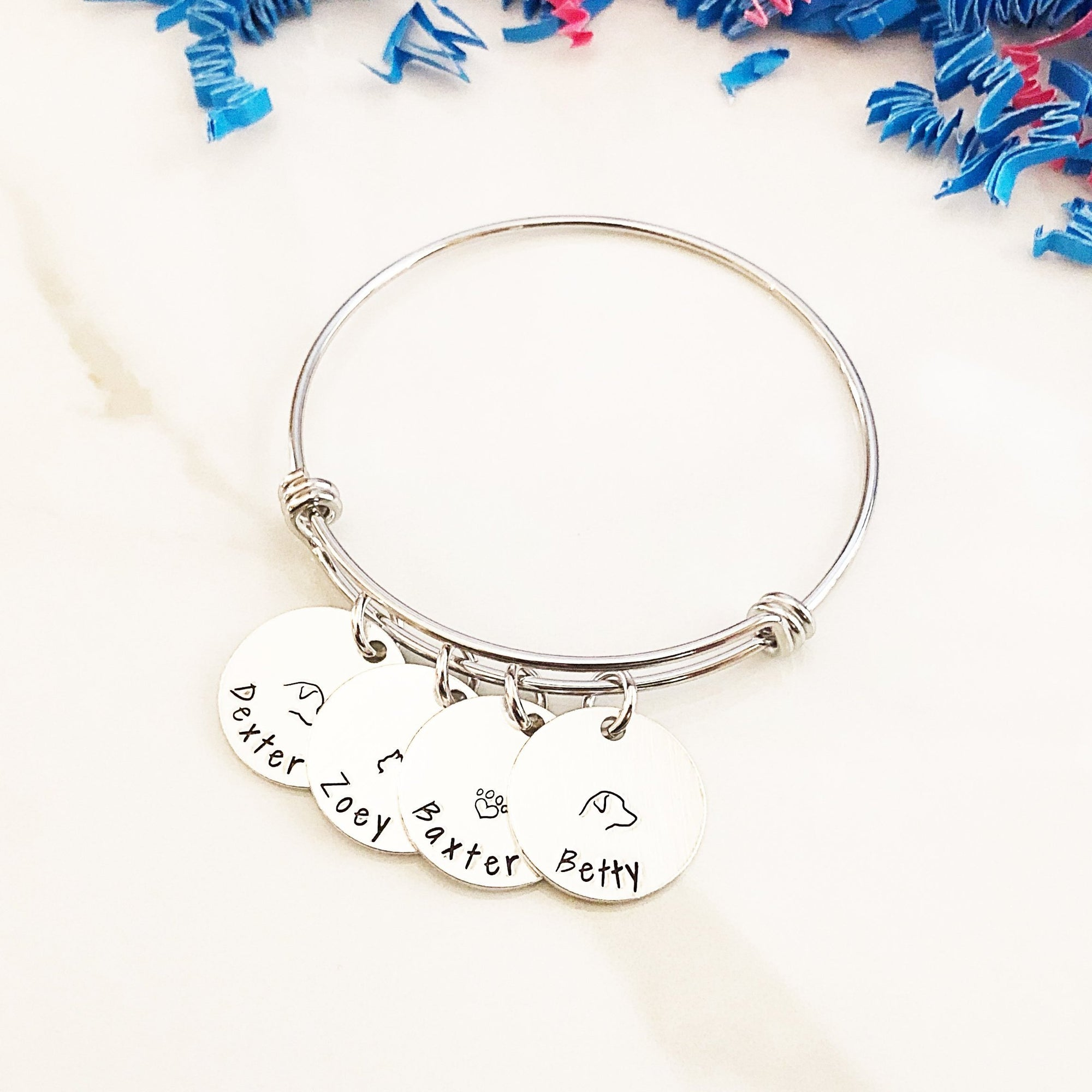 Personalized Pet Name Bracelet