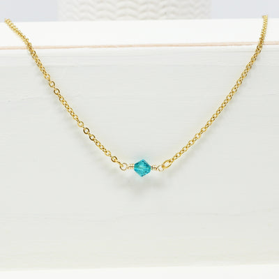 Swarovski Birthstone Necklace