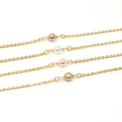 Mother of the Groom Pearl Necklace - Ivy Necklace
