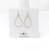 gold wire earrings