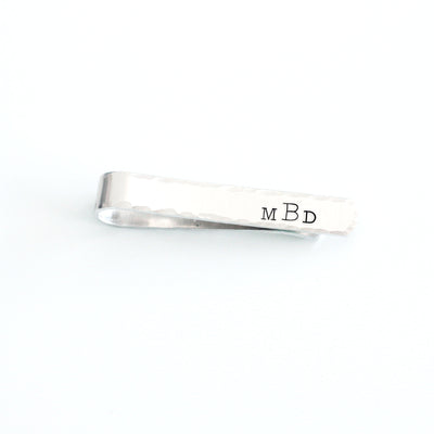 Personalized Monogram Tie Clip