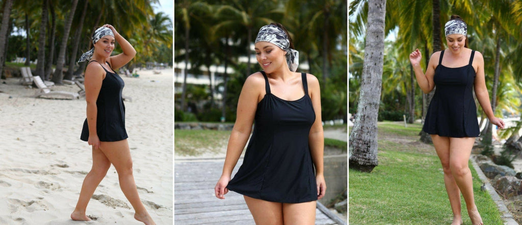 Every Woman Needs a Little Black Swimdress