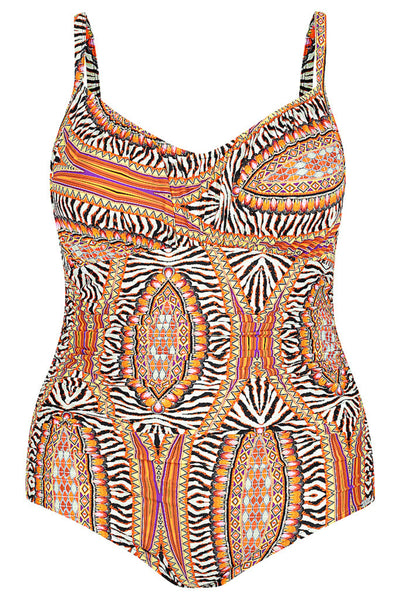 Safari Underwire One Piece Swimsuit