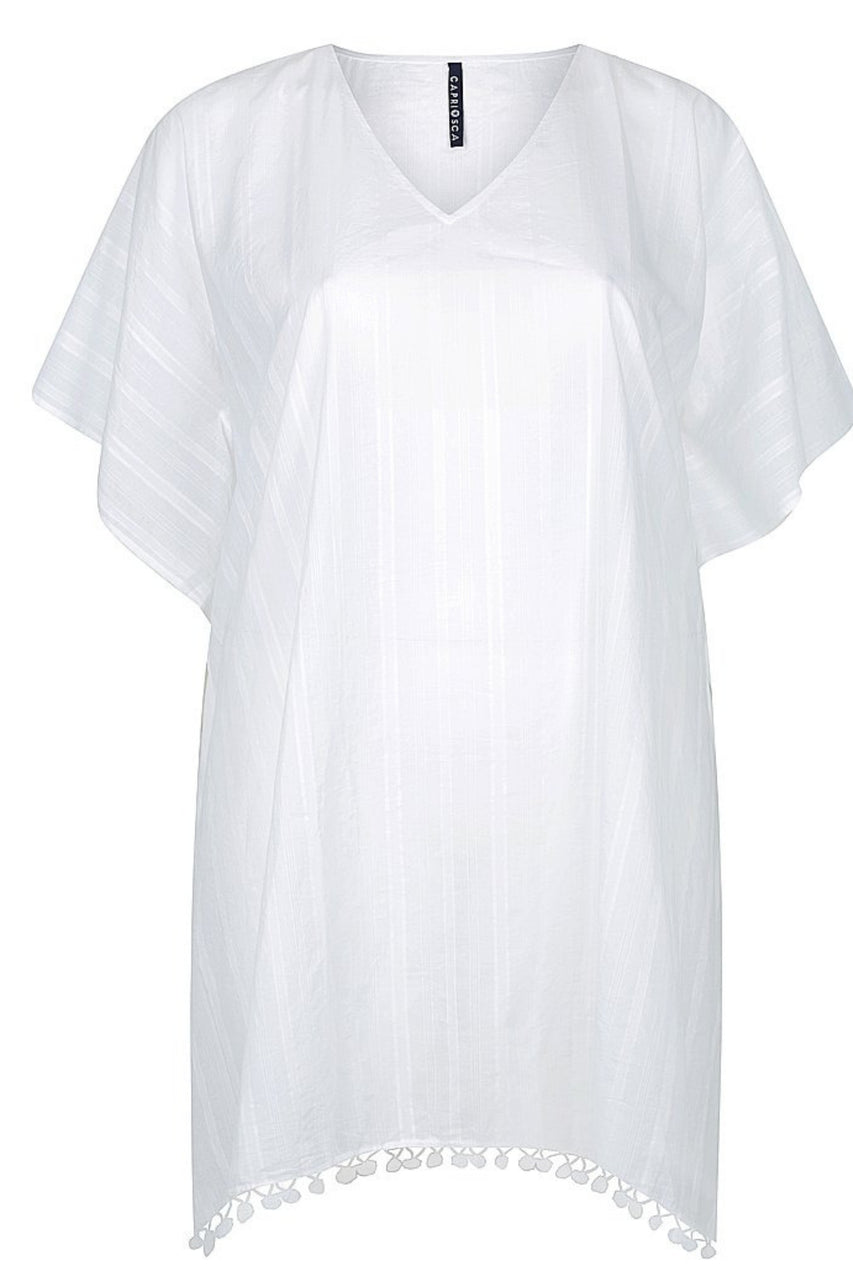White Cotton Kaftan