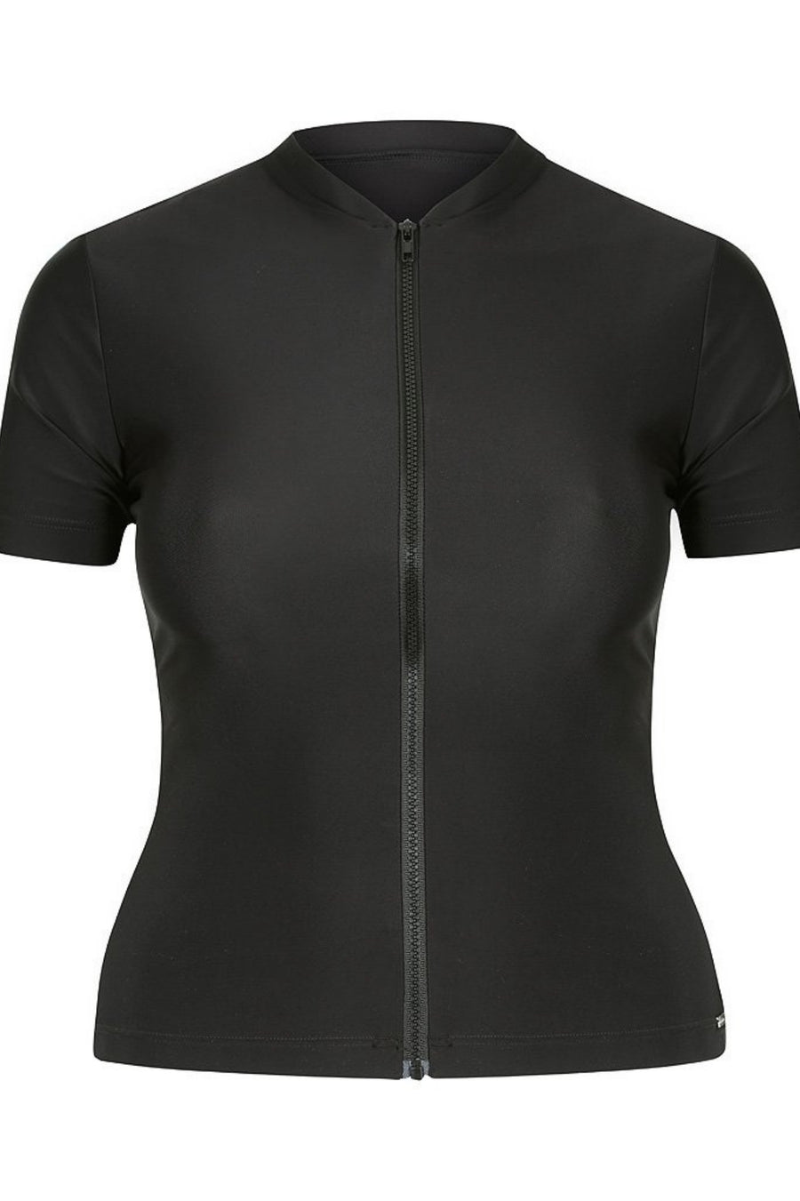 women's short sleeve rash guard