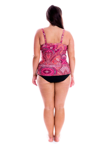 plus size swimwear tankinis