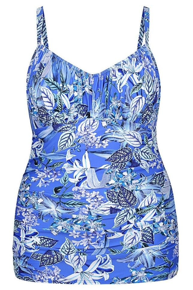 plus size tankini swim tops