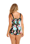 Retro Skirted One Piece Full Bloom