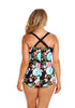Full Bloom Retro Skirted One Piece