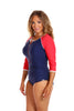 Luxe Sport Zip One Piece