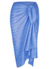 Beach Cover Up Cobalt Blue Sarongs