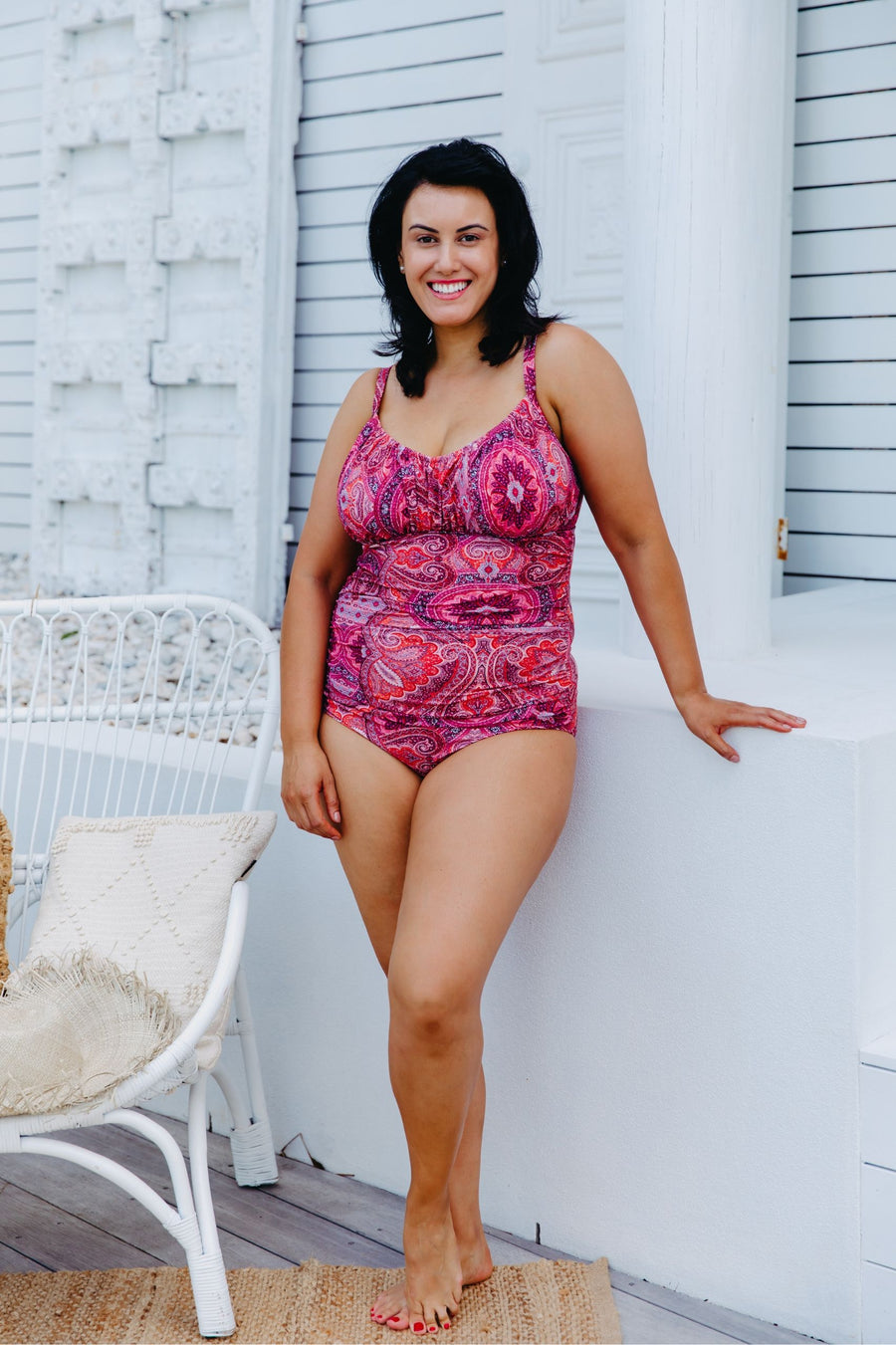 Underwire One Piece Bohemian Sunset